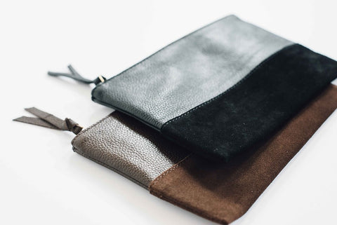 Marigold Leather Pouch