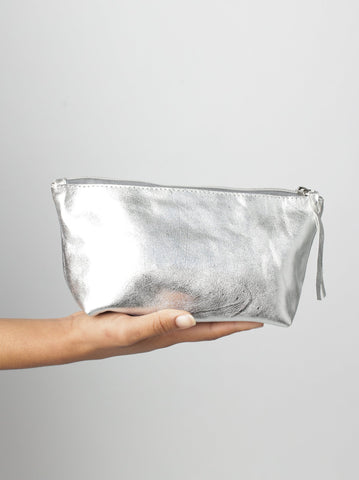 Metallic Make Up Pouch