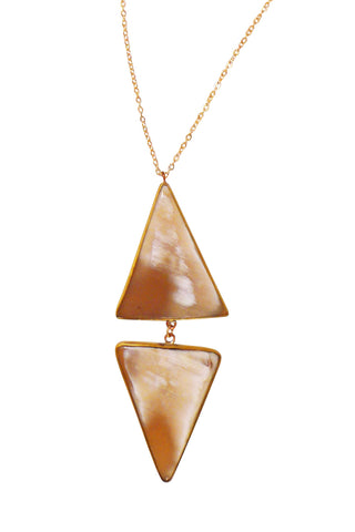 Double Arrowhead Necklace