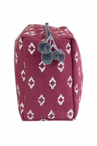 Nala Garnet Toiletry Bag