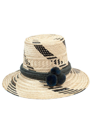 Guajiro Thick Stripe Hat