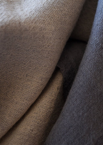 Ewa Grey Throw Blanket