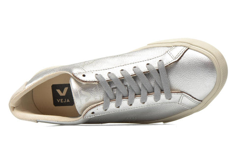 Esplar Silver Leather Sneaker