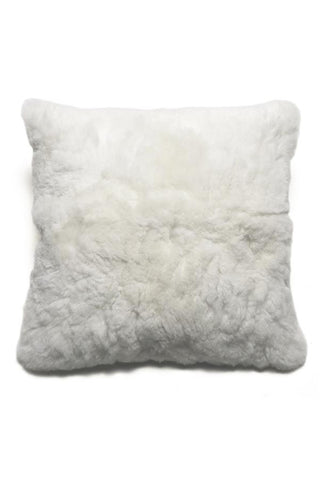 Alpaca White Pillow