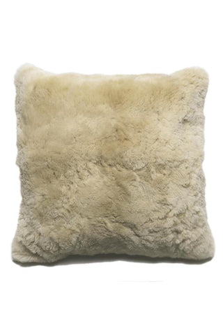 Champagne Alpaca Pillow