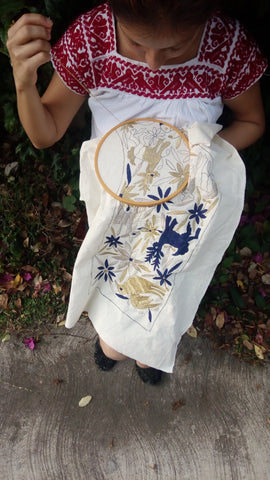 Otomi Holiday Stocking