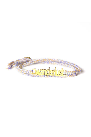 Woven Feather Mix Wanderlust Wrap Bracelet