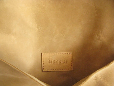 Nubuck Leather Messenger