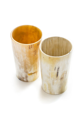 Horn Tumblers (Set of 2)