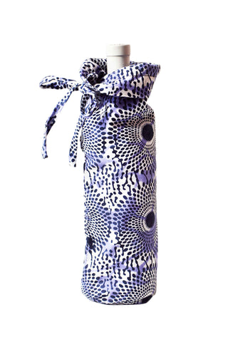 Indigo Wine Bag