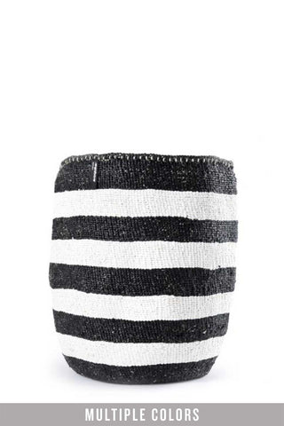 Kiondo Thick Stripe Baskets