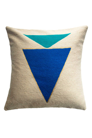 Midnight Jewel Turquoise Pillow