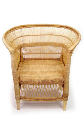Malawi Natural Cane Chair
