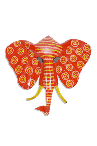 Elephant Mask Wall Hanging