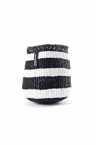 Kiondo Black Stripe Basket