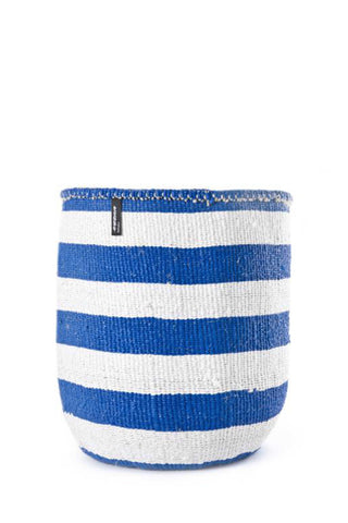 Kiondo Blue Stripe Basket