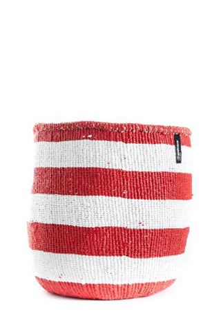Kiondo Red Stripe Basket