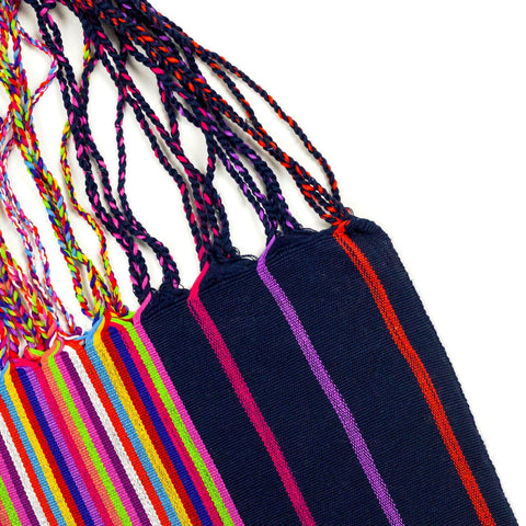 Multi Stripe Hammock Bag