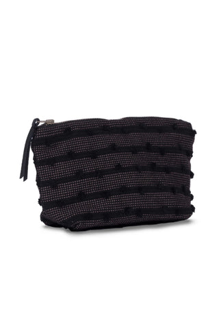 Mini Basketweave Chicory Cosmetic Pouch