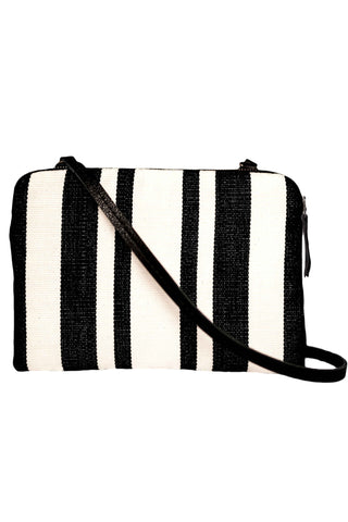 *Exclusive Contrast Stripe Andrea Cross Body Bag