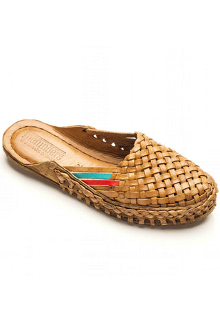 Mohinders Woven Leather Women's City Slippers