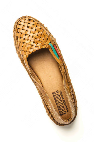 Mohinders Woven Leather Flats