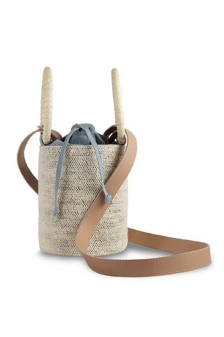 Dusty Blue Cylinder Bag