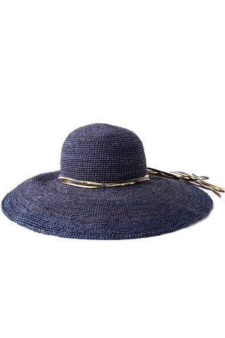 Bianca Navy Hat