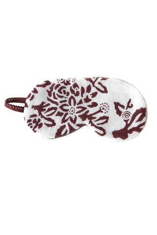 Block Printed Eye Mask