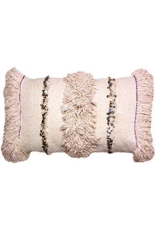 Blush Moroccan Handira Pillow