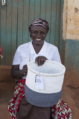 Kiondo Thin Stripe Baskets