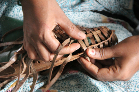 Handwoven Leather Shoes