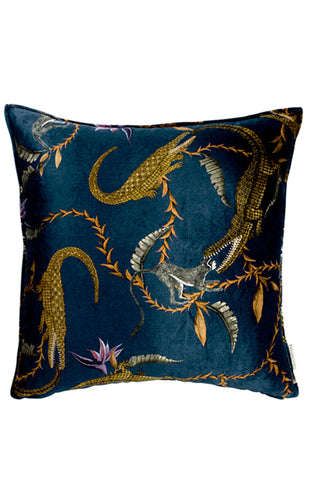 Ardmore River Chase Velvet Pillow Cover