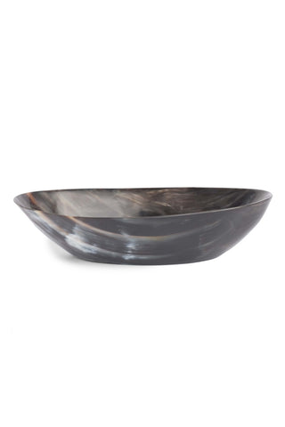 Cow Horn Oval Bowl