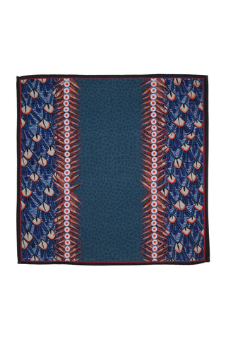 Ardmore Frost Feather Napkin