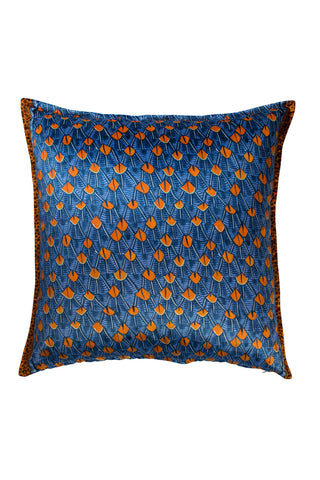 Ardmore Feather Royal Velvet Pillow