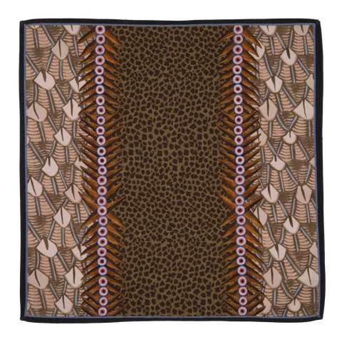 Ardmore Stone Feather Napkin