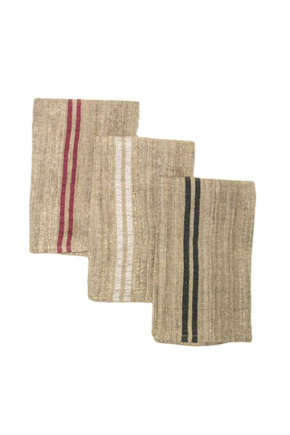 Saharan Silk Thin Stripe Napkin
