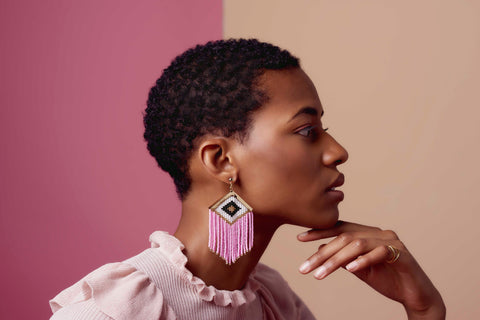 Rombo Embera Earrings