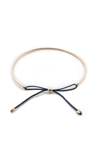 Bow Tie Bangle Bracelet