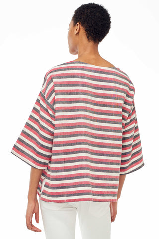 Huipile Dark Stripe Top