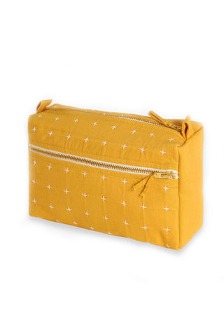 Small Mustard Toiletry Bag