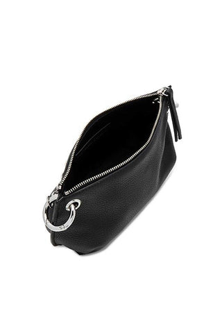 Marna Micro Black Floater Pouch