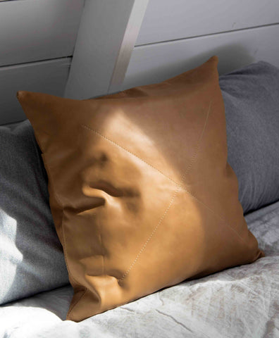 Leather Safari Pillow