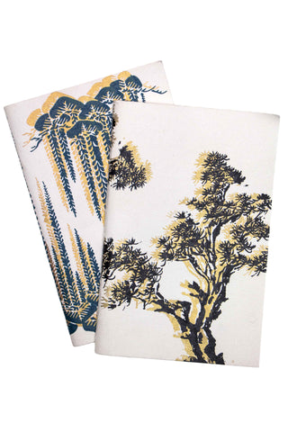 Uzma Recycled Cotton Willow Tree Print Journal