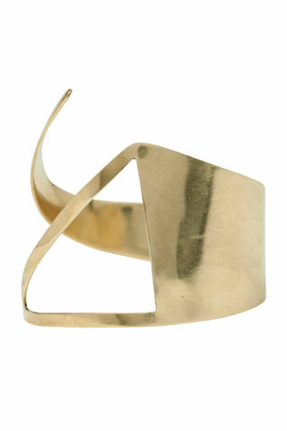 Kerina Triangle Cut-Out Statement Cuff