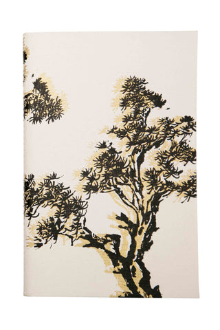 Uzma Recycled Cotton Bonsai Tree Print Journal