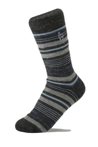 Striped Alpaca Socks