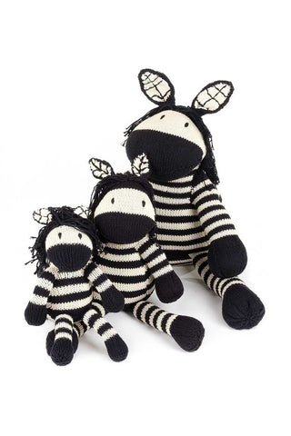 Cotton Squeezy Zebra