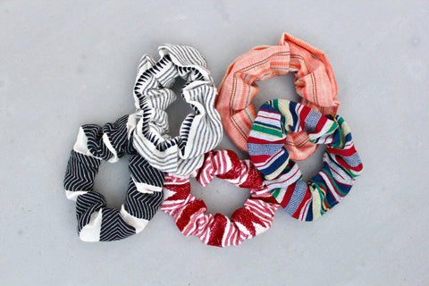 Multicolor Scrunchies
